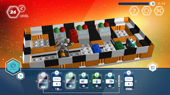Robot School. Programming Game - screenshot