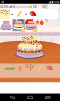 Screenshot of cake games