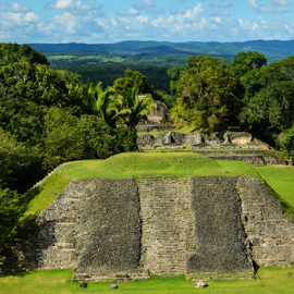 Xunantunich Mayan Temple by Jeanne Knoch - Buildings & Architecture Statues & Monuments (  )