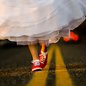 Walk the Line by Jim Harmer - Wedding Other ( idaho, photography, portrait )