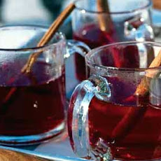 Hot Cranberry Tea Cider
