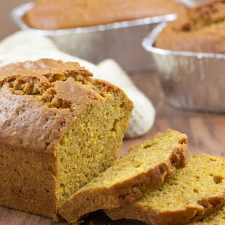 Pumpkin Honey Bread