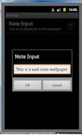 Screenshot of WallNotes Wallpaper - Free