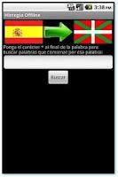 Screenshot of Hiztegia Offline Prueba