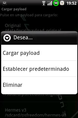 PSFreedom Manager for HTC G1