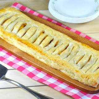Homemade Puff Pastry with Plantain Filling
