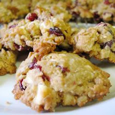 Cranberry Chocolate Oat Cookies