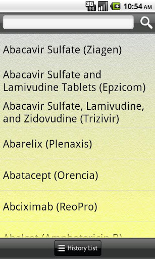 Drug Interactions A-z