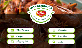 Screenshot of Del Monte Kitchenomics