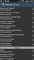 Screenshot of Rodovias On Line
