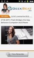 Screenshot of GeekBeat.TV