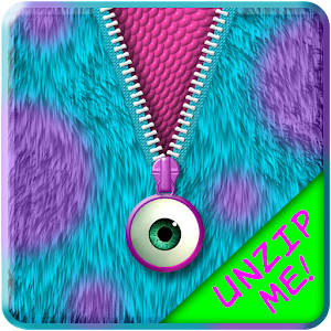 Monster fur zipper lock screen android apps on google play for Kuchenplaner fur android