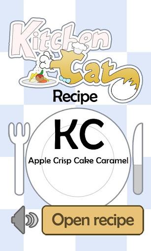 KC Apple Crisp Cake Caramel