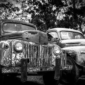 Old and Worn by Esther Visser - Transportation Automobiles (  )
