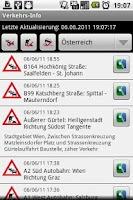 Screenshot of Verkehrsinfo Österreich