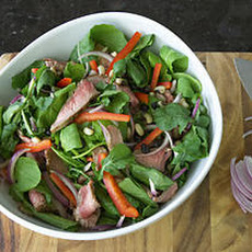 Flank Steak Salad with Arugula Recipe