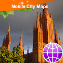 Wiesbaden Mainz Street Map icon