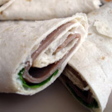 Roast Beef Dinner Sandwich Wrap