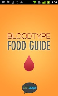 Blood Type Diet Guide - screenshot