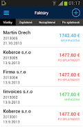 Screenshot of miniFAKTURA - Invoice App
