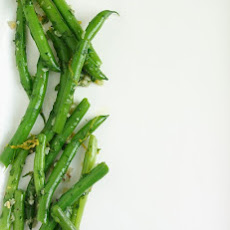 Green Beans with Parsley and Garlic