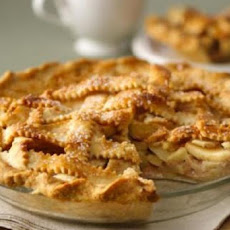 Glazed Apple Cream Pie