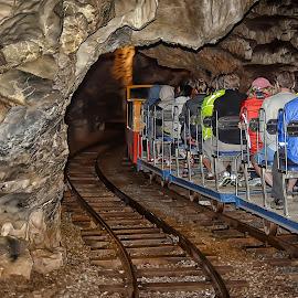 Postojna cave train by Cristian Peša - Transportation Trains