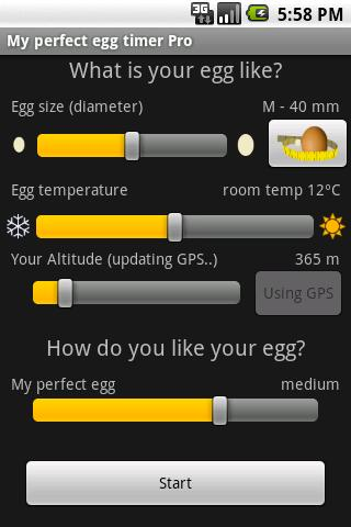 My perfect egg timer PRO