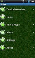 Screenshot of Nagbag Nagios Client