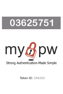 MyPW for Android - screenshot