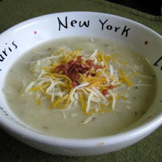 The BEST Baked Potato Soup Ever!