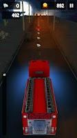 Screenshot of Fire Truck Frenzy Racing Free