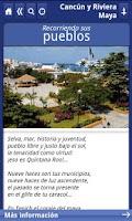 Screenshot of Cancun y Riviera Maya