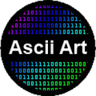 Ascii art (convert) icon