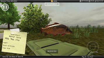 Screenshot of Carp Fishing Simulator