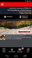 Screenshot of 4th Fire Behavior & Fuels Conf