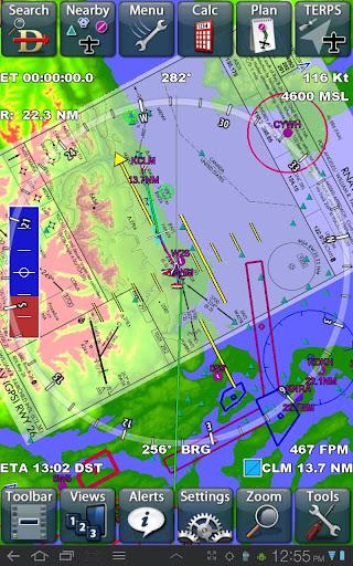 Anywhere Map-Aviation GPS - screenshot