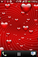 Screenshot of Valentine's day Love Wallpaper