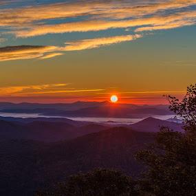Pisgal Sunrise by Mike Watts - Landscapes Sunsets & Sunrises ( pisgal, sunrise )