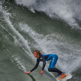 HB Surferr by Jose Matutina - Sports & Fitness Surfing ( surfer, orange county, sea, ocean, surf, huntington beach,  )