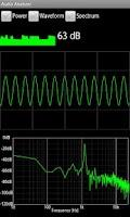Screenshot of Real-time Audio Analyzer Free