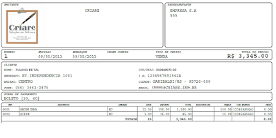 Screenshot of CriareMobile - Força de Vendas