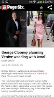 Screenshot of New York Post for Phone
