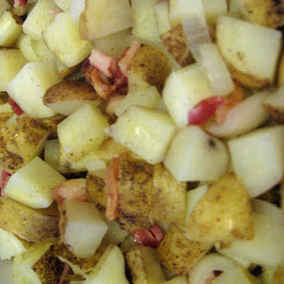 Microwave Dutch Oven Potatoes
