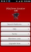 Screenshot of Platform Locator Lt.