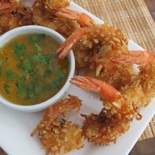 Crispy Rice Chex® Coconut Shrimp (Gluten Free) With Tangy Pineapple-Chili Dip
