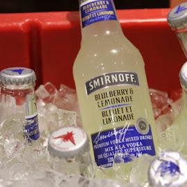 Blueberry & Lemonade by Andriana Alevizos - Food & Drink Alcohol & Drinks ( blueberry, lemonade, summer, smirnoff, vodka )