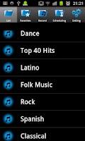 Screenshot of V Radio Recorder Free