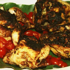 Broiled Marinated Quail