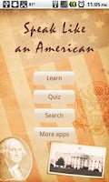 Screenshot of Speak Like an American